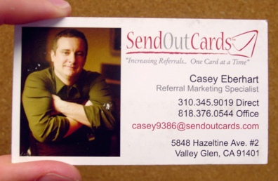 caseyscard Building a Better Business Card